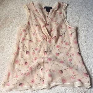 Limited Silk Top - Size Medium